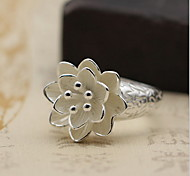 Ring Jewelry Sterling Silver Simple Style Silver Jewelry Daily Casual 1pc