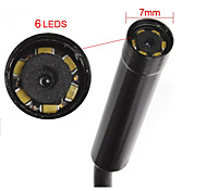 5M 7mm Lens 6LED  Endoscope IP67 USB Borescope Tube Camera Snake
