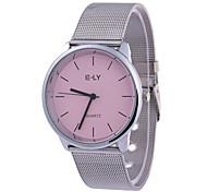 Women's Fashion Watch Wrist watch Quartz Alloy Band Silver