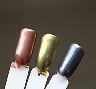 2017 New Manicure Mirror Pink Aurora Golden Mirror of Flour 2G