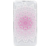 For Wikon Lenny3 phone Case Pink Love Lace Embossed Pattern TPU Material High Penetration