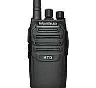 Wanhua HTD de mano walkie talkie UHF 403-470mhz radio de dos vías