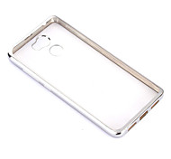 ASLING For Plating / Ultra-thin Case Back Cover Case Solid Color Soft TPU for Redmi 4A/4/4 Prime