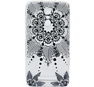 For Hongmi Note 3  3S phone Case Black Lace Embossed Pattern TPU Material High Penetration