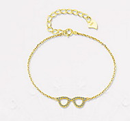 Chain Bracelet Alloy Natural Fashion Gift Jewelry Gift 1pc