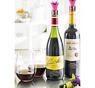 Rolhas de vinho Silicone,7.5*2.3 Vinho Acessórios
