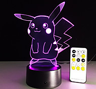 Cartoon Table Lamp With 3D Effect Led Night Light Holiday Light Fun Light For Baby And Decoration Birthday Gift