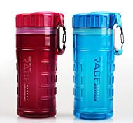 450ml Tea Drinking Bottle Sport Plastic Water Bottle with Handle