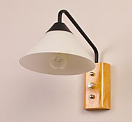 Japanese Korean Aisle Porch Stairs Bedroom Bedside Lamp Wall Lamp Glass Wood