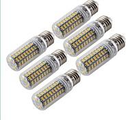 YouOKLight 6pcs E27 5W 72*SMD5730  Warm White Light  LED Corn Bulbs Lamp 220-240V