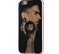 For Apple iPhone 7 Plus 7 6s 6 Plus Case Cover Super Men Pattern Acrylic Back Cover and TPU Frame Combinat Flash Powder Ring Bracket Mobile Phone Case