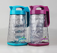 Set of 5 pcs Drinkware 1.8L BPA Free Plastic Water Jugs  Water Pitcher with Cups