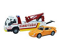 Машина скорой помощи Игрушки Игрушки на солнечных батареях 1:50 Металл ABS Пластик Кот Модели и конструкторы