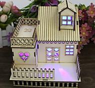 1шт привело многоцветной подарок праздник день рождения новомодному многофункциональный дом ночник