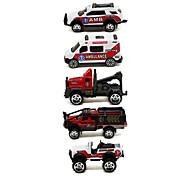 Ambulância Playsets veículos 1:64 Metal Plástico Vermelho