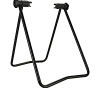 Foldable Bike Floor Stand Bicycle Hub Repair Parking Rack Black Bike Kickstand