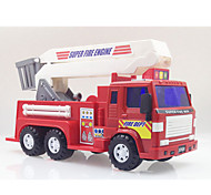 Fire Engine Vehicle Pull Back Vehicles Car Toys 1:28 Metal Plastic Red Model & Building Toy