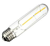 2W E26/E27 Bombillas de Filamento LED Tubo 2 SMD 5730 200 lm Blanco Cálido Decorativa AC 100-240 V 1 pieza