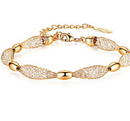 Bracelet Chain Bracelet Alloy Others Natural Gift Jewelry Gift Gold,1pc