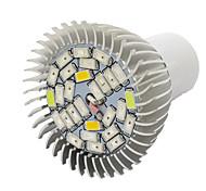 10W E27 Luz de LED para Estufas 28 SMD 5730 800 lm Branco Quente Vermelho Azul UV (Luz Negra) V 1 pç
