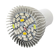 10W E27 LED Grow Lights 28 SMD 5730 800 lm Warm White UV (Blacklight) Red Blue AC85-265 V 1 pcs