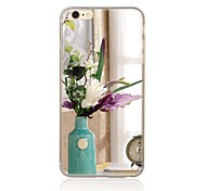 For Pattern Case Back Cover Case Flower Soft TPU for Apple iPhone 7 Plus iPhone 7 iPhone 6s Plus/6 Plus iPhone 6s/6 iPhone SE/5s/5 iPhone