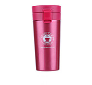 Classic Sports Outdoor Drinkware, 380 ml Heat Retaining Portable Stainless Steel Polypropylene Tea Coffee Vacuum Cup
