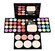 1Pcs Make-Up Box Of Color Plate Of Makeup Set 24 Color Eye Shadow 8 Color Lip Gloss 4 Color Blush 3 Powdery Cake