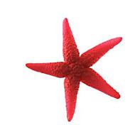 Aquarium Decoration Ornament Non-toxic & Tasteless Silicone Red