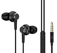UiiSii GT900 Universal 3.5mm Metal Headphones In Ear Super Bass Earphone with Microphone Auriculares For Android iOS