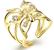 Gold Fashion Ladies Ring Opening creative brief AKR065