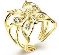 Gold Fashion Ladies Ring Opening creative brief AKR065
