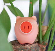 Pig head LED intelligent light Multi-function socket function night light