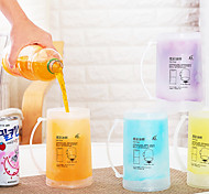 Colored Drinkware, 180 ml Decoration Plastic Tea Juice Tea Cup