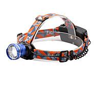 Lanternas de Cabeça 2000 Lumens 3 9 Modo Cree XM-L T6 18650.0 Foco Ajustável Tamanho CompactoCampismo / Escursão / Espeleologismo Uso