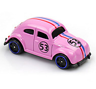 Race Car Toys Car Toys 1:64 Plastic Metal Pink Model & Building Toy