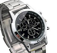 Fashion Watch Wrist watch Quartz Alloy Band Cool Casual Silver