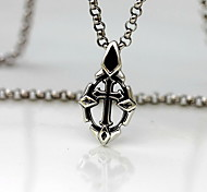 Pendants Sterling Silver Cross Cross Fashion Black Jewelry Daily Casual 1pc