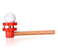 Suspended Ball  Puzzle Game Toys Leisure Hobby Toys Novelty Sphere Cylindrical Wood Red For Boys For Girls