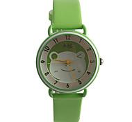 Women's Fashion Watch Quartz / PU Band Casual Green Brand