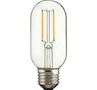 2W E27 Bombillas de Filamento LED P45 2 COB 180 lm Blanco Cálido Blanco Fresco AC 100-240 V 1 pieza