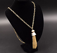 Women's Pendant Necklaces Jewelry Alloy Jewelry Dangling Style Simple Style Fashion Euramerican Gold Silver JewelryParty Special Occasion