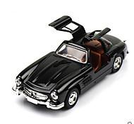 Classic Car Race Car Toys Car Toys 1:28 Metal Plastic Black Model & Building Toy