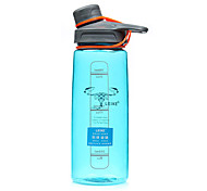 Transparent Sports Outdoor Drinkware, 600 ml Portable BPA Free Plastic Tea Water Water Bottle