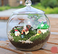 Mini Aquariums Decoration Glass Fish Tank Transparent