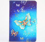 For Samsung Galaxy Tab 4 7.0 with Stand Case Full Body Case Butterfly Hard PU Leather Universal for Tab 3 7.0 Tab 2 7.0 Tab A 7.0