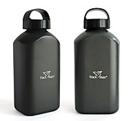 Minimalism Drinkware, 1000 ml Portable Leak-proof Aluminum Tea Coffee Water Bottle