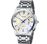 Fashion Watch / Quartz Alloy Band Casual Silver