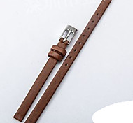Women'sWatch Bands Genuine leather 6mm Watch Accessories