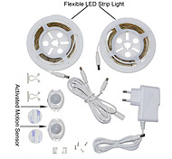 ywxlight® 2835smd 3w 36LED теплый белый холодный белый ес подключить активированный кровати свет 2x1.2m датчик гибкий таймер полосы
